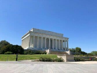 New York til Washington D.C. bustur - Lincoln-Memorial