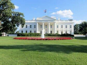 New York til Washington D.C. bustur - Det Hvide Hus