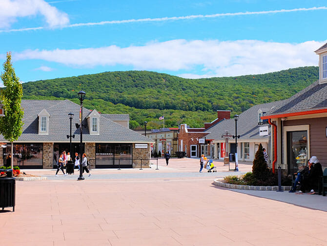 Woodbury Common Premium Outlet Center i New York - Plads