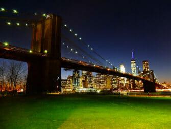 Brooklyn Bridge Park i New York - Brooklyn Bridge