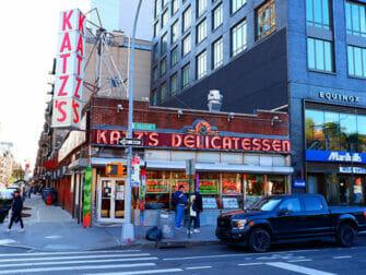 Lower East Side i New York - Katz's Deli