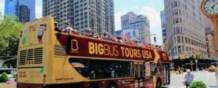 Hop-on-hop-off-bus i New York
