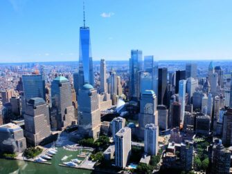 Helikopterture og ruter i New York - Manhattans skyline