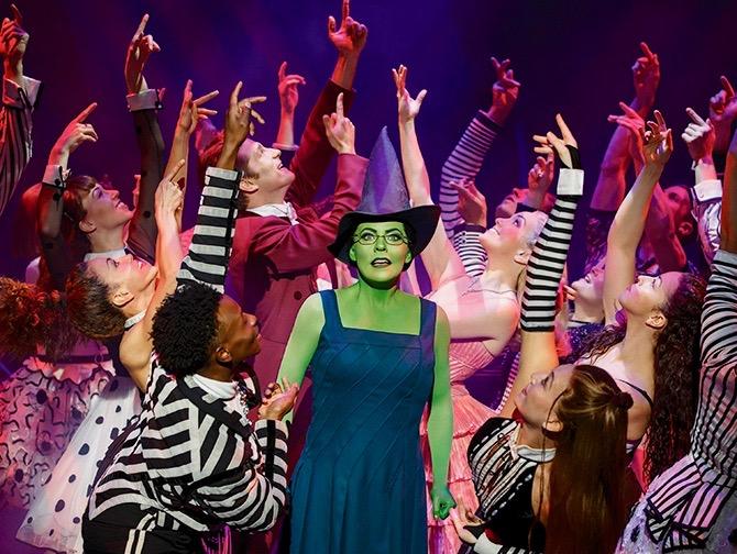 Wicked Broadway billetter - Elphaba og ensemble