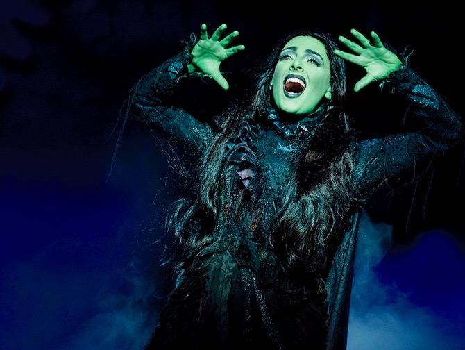 Wicked Broadway billetter - Elphaba