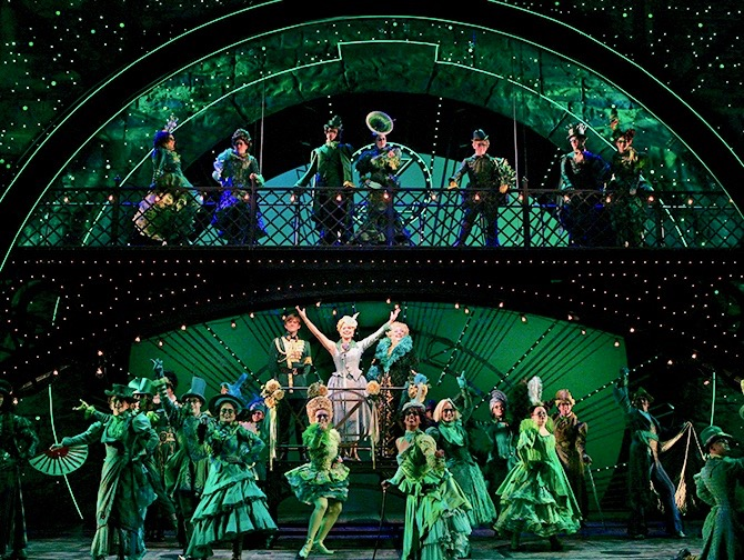 Wicked Broadway billetter - Scenen