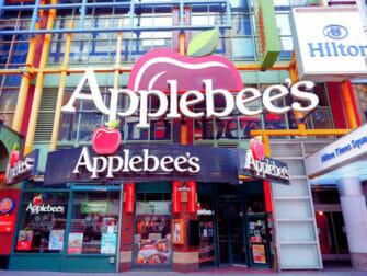 Spise ude med børn i New York - Applebee's