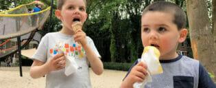 Spise ude med børn i New York