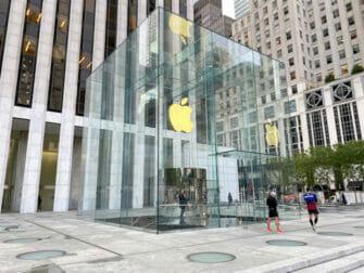 Elektronik i New York - Apple Store