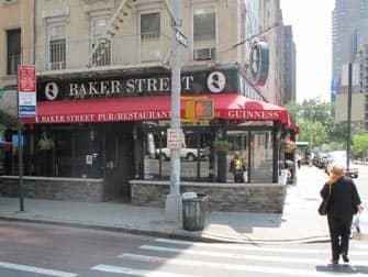 De bedste barer at se fodbold på i New York - Baker Street