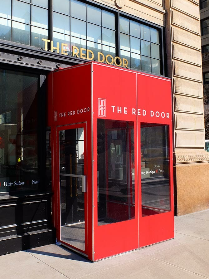 Skønhedssaloner i New York - Red Door Spa
