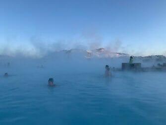 Island stopover på vej til New York - Den Blå Lagune