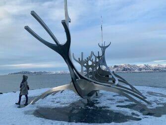 Island stopover på vej til New York - Solfærd