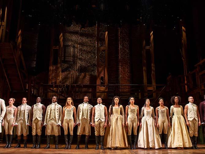 Hamilton Broadway billetter - Skuespillerne