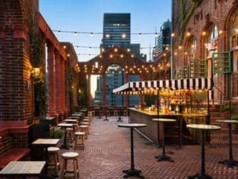 Pod Hotel 39 i New York - Rooftop-bar
