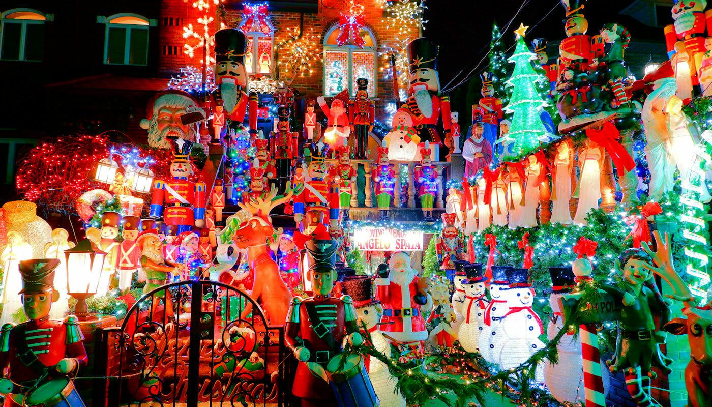 Dyker Heights Christmas Lights - Pynt