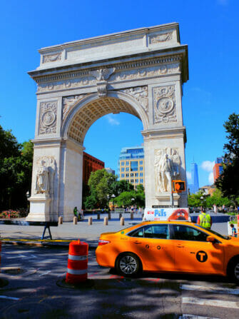 Guidet cykeltur på Manhattan - Washington Square Park