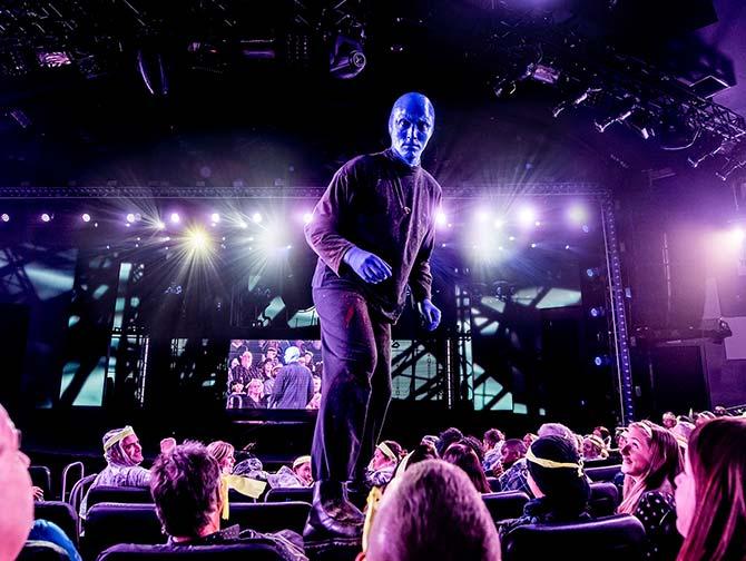 Blue Man Group i New York billetter - Blue Man