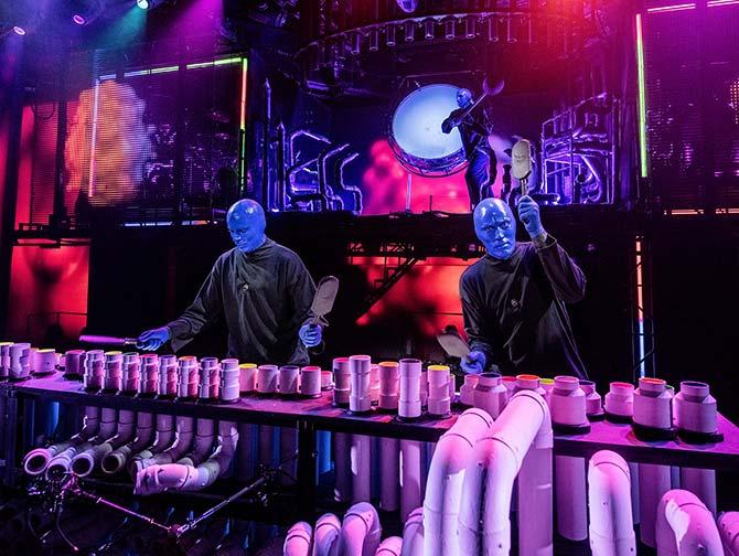 Blue Man Group i New York billetter - Scenen