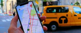 Mobiltelefoni og data i New York