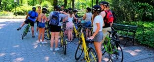 Guidet cykeltur i New York