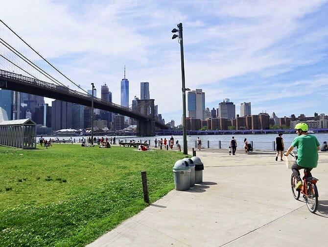 Leje cykel i New York - Cykeltur i Brooklyn