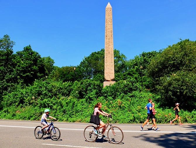 Leje cykel i New York - Cyklister