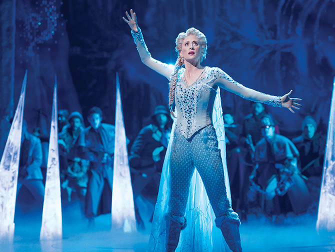 Frozen Broadway billetter - Elsa
