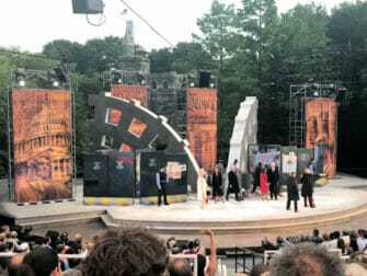 Shakespeare in the Park i New York billetter - Publikum