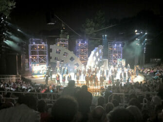 Shakespeare in the Park i New York billetter - Forestillingens slutning