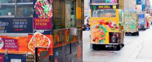 Gadekøkken i New York