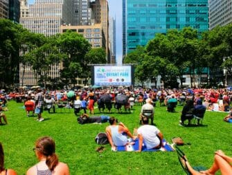 Broadway i Bryant Park - The Lawn