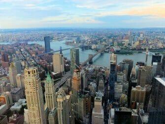 Den bedste udsigt i New York - One World Observatory