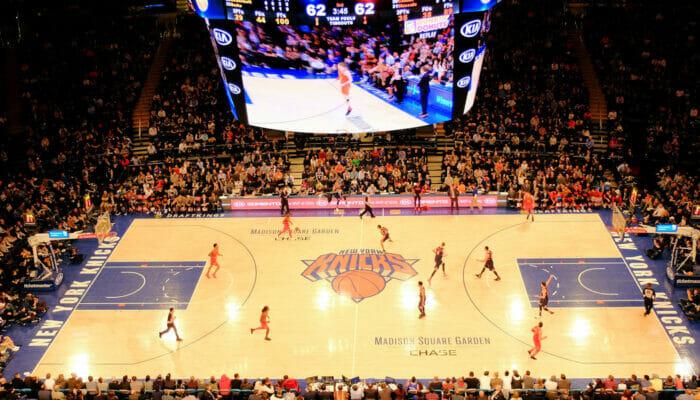 NBA Basketball i New York
