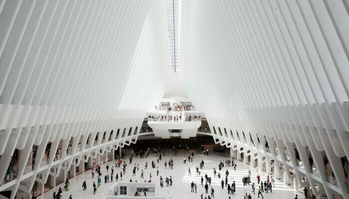 World Trade Center Transportation Hub - Indenfor