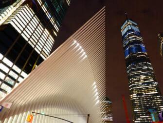 World Trade Center Transportation Hub - Oculus udefra