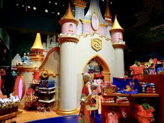Disney Store på Times Square - Prinsesseslot