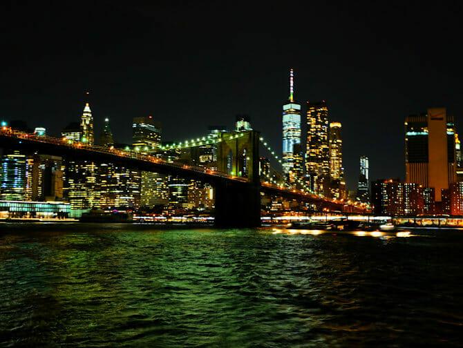 Cruise med middag på Hudson River i New York - Skyline