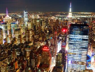 Edge Hudson Yards Observation Deck billetter - Udsigt om aftenen