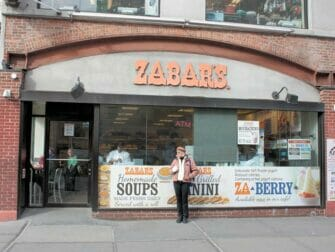 Klassisk filmtur i New York - Zabar's