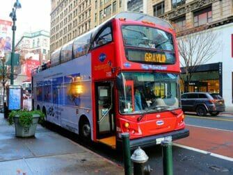New York Sightseeing Day Pass - Hop-on-hop-off-bus