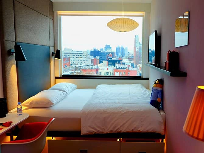 citizenM New York Bowery Hotel - Værelse