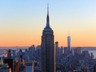 Forskellen på New York Sightseeing Flex Pass og New York Explorer Pass - Empire State Building