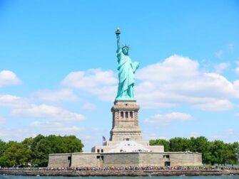 Forskellen på New York Sightseeing Flex Pass og New York Explorer Pass - Frihedsgudinden