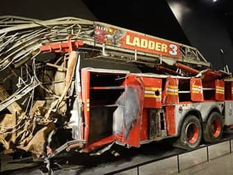 9/11 Museum i New York - Brandbil