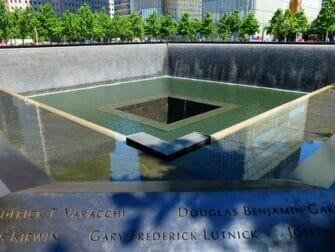 Forskellen på New York Sightseeing Day Pass og New York Pass - 9/11 Memorial