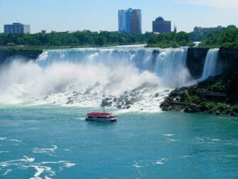 New York til Niagara Falls dagstur med bus - Maid of the Mist