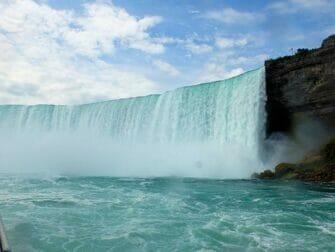 New York til Niagara Falls dagstur med bus - Udsigt fra Maid of the Mist