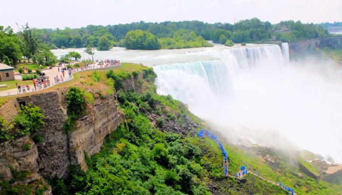 New York til Niagara Falls dagstur med bus - Udsigt fra udsigtspunkt