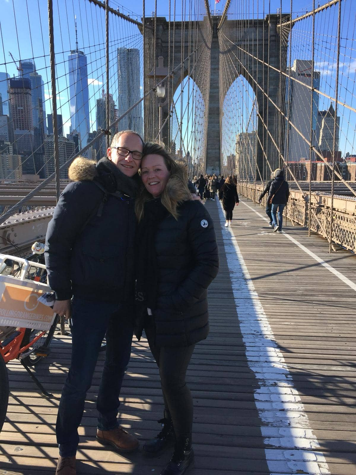 Vind en rejse til New York - Brooklyn Bridge